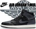 NIKE AIR JORDAN 1 MID black/da...
