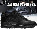 NIKE AIR MAX 90 LTR GS black/b...