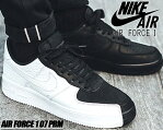 NIKE AIR FORCE 1 07 PRM black/white-black 【ナイキ エアフォース 1 メンズ スニーカー AF1 プレミアム ホワイト ブラック】