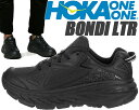 HOKA ONE ONE BONDI LTR black/b...