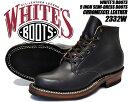 楽天LIMITED EDTお得な割引クーポン発行中!!【2332W】 【ホワイツ クロムエクセル】WHITE'S BOOTS 5 INCH SEMI-DRESS BOOTS blk chrmxl made in U.S.A.【メンズ ブーツ クロムエクセル レザー 靴 ワークブーツ ブラック 黒】