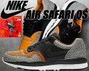NIKE AIR SAFARI QS black/black...