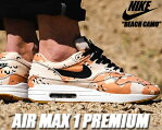 NIKE AIR MAX 1 PREMIUM beach/black-praline【ナイキ エアマックス 1 スニーカー エア マックス カモフラ BEACH CAMO DESERT CAMO】