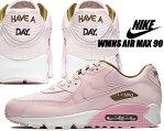 NIKE WMNS AIR MAX 90 SE pink form/pink form ナイキ ウィメンズ エアマックス 90 SE スニーカー エア マックス