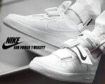 NIKE AIR FORCE 1 UTILITY white/white-black ao1531-101 ナイキ エアフォース1 ユーティリティ スニーカー AF1 ホワイト ブラック