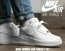 NIKE WMNS AIR FORCE 1 '07 whit...