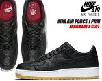 NIKE AIR FORCE 1 CLOT×FRAGMENT DESIGN black/university red-white cz3986-001 ナイキ エアフォース 1 '07 クロット フラグメント スニーカー Black Silk AF1 藤原ヒロシ ブラックシルク