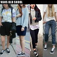 VANS OLD SKOOL BLACK/WHITE【バンズ スニーカー オールドスクール レディースサイズ】