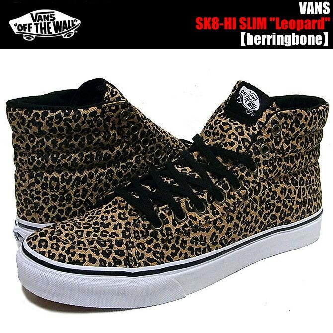 sk8 hi leopard vans