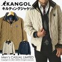 メンズ KANGOL カンゴールキルティングジャケット 中綿入りブルゾン【14B0503】