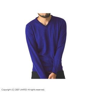 カシミアタッチ ネックニットセーター