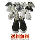 【送料無料】スリッポン メンズ スニーカー キャンバスシューズ シューレース 靴【RQ0660】