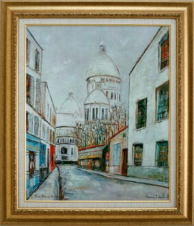 サクレ cool Utrillo of Montmartre