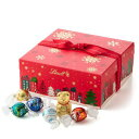 リンツ Lindt チョコレート クリスマス ホリデーギフトボックス リンドール 詰め合わせ