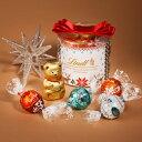 リンツ Lindt チョコレート クリスマス リンドール リボン ギフト ボックス 5種8個入