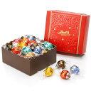 リンツ Lindt チョコレート クリスマス リンドール クラシック ギフト ボックス 28個