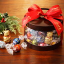 リンツ Lindt チョコレート クリスマス リンドール ギフト ボックス 50個入り【チョコ