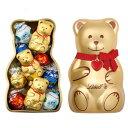 リンツ Lindt チョコレート リンツテディ缶 L クリスマス2017【詰め合わせ アソート