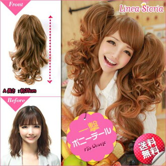 Twin tails wig 'ponytail blow' LSRV