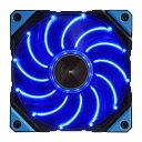 ENERMAX PCケースファン 12個のLEDと特許DFRを取得した120mm LEDファン UCDFV12P-BL ブルーLED