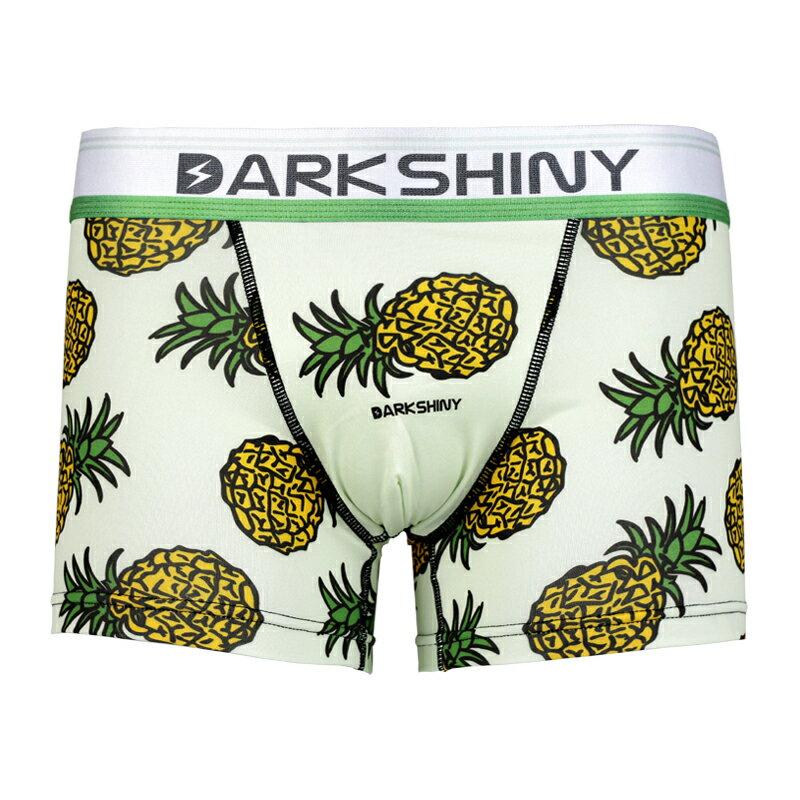 DARK SHINY Mens Boxer Pants-Pineapple(ボクサーパンツ 下着 メンズ 下着 レディース インナー アンダーウェア おしゃれ オシャレ パンツ アンダーウェア レディース ダークシャイニー)【SUMMER_D1808】プレゼント