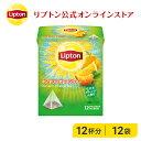 リプトン 紅茶 ブランド 紅茶 ティーバッグ マンダリンオレンジティー 12袋 オレンジ フレーバーティー Lipton