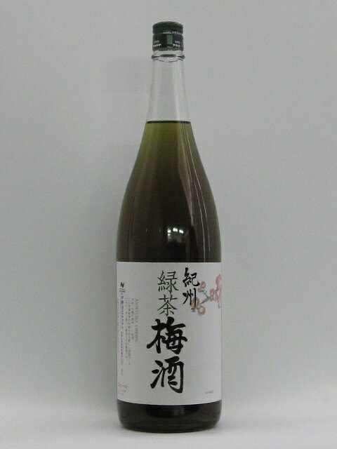 中野BC 緑茶梅酒 1800ml