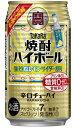 宝 焼酎ハイボール 強烈塩レモンサイダー割り 350ml×24本/1ケース【ご注文は2ケースまで1個口配送となります】