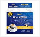 【ケース販売】UCC 職人の珈琲 ドリップコーヒー まろやか味のマイルドブレンド (7g×18P)×6袋 【ご注文は4ケース(24袋)まで同梱可能です】