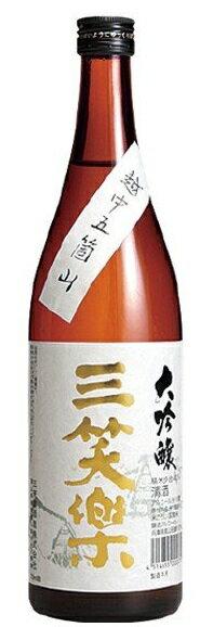 【送料無料】【ケース販売】【富山の地酒】三笑楽 大吟醸 瓶 720ml×12本【北海道・沖縄県・東北・四国・九州地方は必ず送料が掛かります】