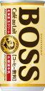 【3ケースまで1個口配送に変更】サントリー BOSSボス カフェオレ 185ml×30本(1ケース)