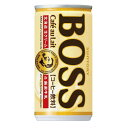 サントリー BOSSボス カフェオレ 185ml×30本(1ケース)【ご注文は3ケースまで同梱可能で