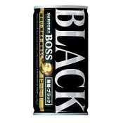 サントリー BOSSボス 無糖ブラック 185ml×30本(1ケース)【ご注文は3ケースまで同梱可能です】