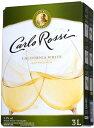 カルロ ロッシ カリフォルニア ホワイト 3L 1本【ご注文は2ケース(8本)まで同梱可能です】
