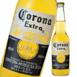 【全品2倍ポイント】コロナ ビール エキストラ 4.6度 355ml瓶Corona Extra【1Lボトル18本迄1個口送料】【02P13Dec13_m】