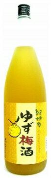 中野BC 紀州 ゆず梅酒 12度 1800ml_...の商品画像