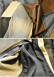 コンフォーターカバー掛け布団カバーデニムファブリックヴェント-1vento約145cm×205cm(サイズにゆがみあり注)一点一点色合いが多少違います。※カバーのみになります)【】