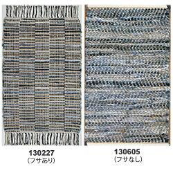 ラグマット絨毯インドキリム柄ファブリックタイド約50cm×80cm(サイズにゆがみあり)【インドデニムキリム柄刺繍じゅうたん絨毯玄関】【10P06May14】注)一点一点色合いが多少違います。