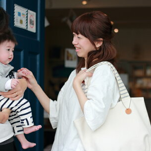 PetiteLisu イニシャル ママトート マザーズ マタニティ