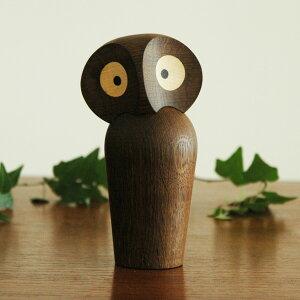 owl(オウル)フクロウ・スモークオークARCHITECTMADE(アーキテクトメイド)/北欧木製オブジェ