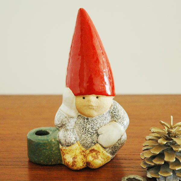 【あす楽15時まで】Lisa Larsonリサラーソン/Santa Boy(サンタ・ボーイ)トムテファミリー/スウェーデン/北欧オブジェ/置物【送料無料】【HLS_DU】【RCP】