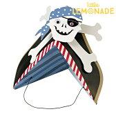 あす楽!【meri meri メリメリ】 パーティーハット 海賊 パイレーツ 【Pirate】パーティー用帽子 子供用ハット