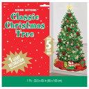 あす楽!【クリスマス シーンセッター】大きなクリスマスツリーののウォールデコレーション パーティー デコレーション【amscan】あす楽対応