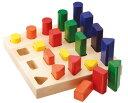 【知育玩具】[HABA:ハバ社]ジャンボペグ立て・かたち【楽ギフ_包装】【楽ギフ_のし】