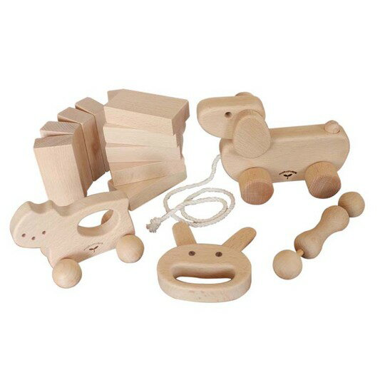 Shinyusha wood and wood toys baby gift set popular product 10P01Sep13