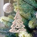 【クリスマス用品】木製オーナメント:アラベスクツリー[ Ch...