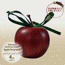 【オリジナルクリスマス用品】4cmアップル12個セット[ Christmas:クリスマスオーナメント ]