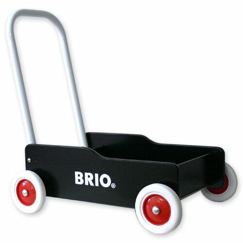 【ベビー向けおもちゃ】 BRIO手押し車 Bla...の商品画像