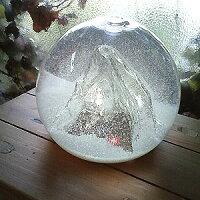 ガラスのスノードーム:雄大な雪景色【マッターホルン】【あす楽対応】