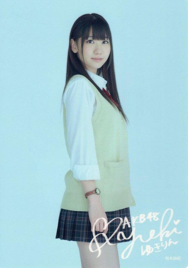 AKB48 下敷き 柏木由紀「AKBがいっぱい」限定特典 /AKB クリアファイルも販売中 グッズ 文具